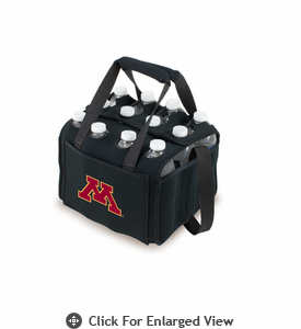 Picnic Time Beverage Buddy 12 Pack - Black University of Minnesota Golden Gophers