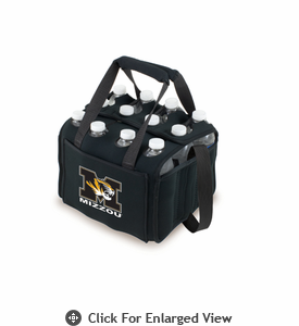 Picnic Time Beverage Buddy 12 Pack - Black University of Missouri Tigers