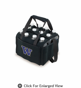 Picnic Time Beverage Buddy 12 Pack - Black University of Washington Huskies