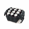 Picnic Time Beverage Buddy 12 Pack - Black University of Wisconsin Badgers