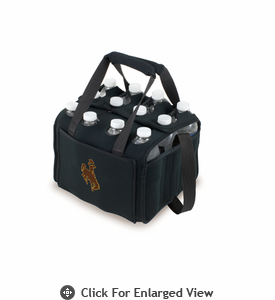 Picnic Time Beverage Buddy 12 Pack - Black University of Wyoming Cowboys