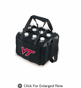 Picnic Time Beverage Buddy 12 Pack - Black Virginia Tech Hokies