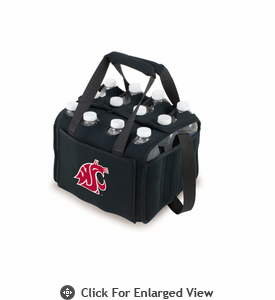 Picnic Time Beverage Buddy 12 Pack - Black Washington State Cougars