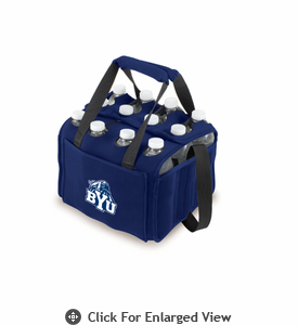 Picnic Time Beverage Buddy 12 Pack - Navy Blue BYU Cougars