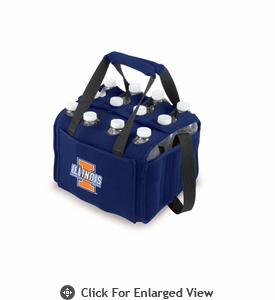 Picnic Time Beverage Buddy 12 Pack - Navy Blue University of Illinois Fighting Illini