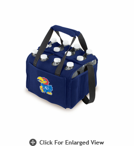 Picnic Time Beverage Buddy 12 Pack - Navy Blue University of Kansas Jayhawks
