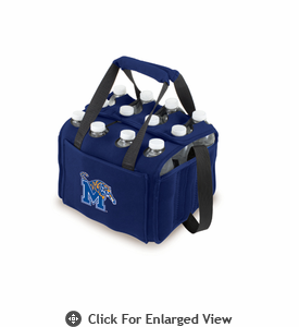 Picnic Time Beverage Buddy 12 Pack - Navy Blue University of Memphis Tigers