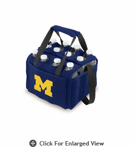 Picnic Time Beverage Buddy 12 Pack - Navy Blue University of Michigan Wolverines