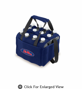 Picnic Time Beverage Buddy 12 Pack - Navy Blue University of Mississippi Rebels
