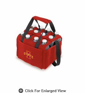 Picnic Time Beverage Buddy 12 Pack - Red Iowa State Cyclones