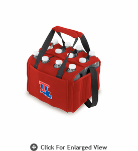 Picnic Time Beverage Buddy 12 Pack - Red Louisiana Tech Bulldogs