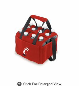 Picnic Time Beverage Buddy 12 Pack - Red University of Cincinnati Bearcats