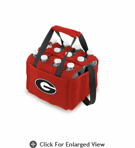 Picnic Time Beverage Buddy 12 Pack - Red University of Georgia Bulldogs