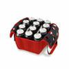 Picnic Time Beverage Buddy 12 Pack - Red University of Louisiana Ragin Cajuns