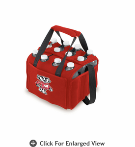 Picnic Time Beverage Buddy 12 Pack - Red University of Wisconsin Badgers