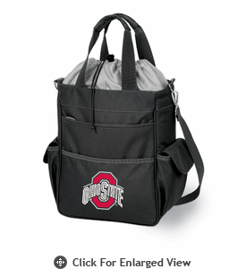 Picnic Time Black Activo Ohio State Buckeyes