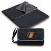 Picnic Time Blanket Tote - Black Baltimore Orioles