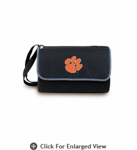 Picnic Time Blanket Tote - Black Clemson University Tigers