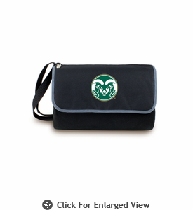 Picnic Time Blanket Tote - Black Colorado State Rams