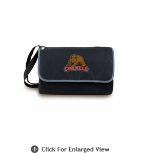Picnic Time Blanket Tote - Black Cornell University Bears