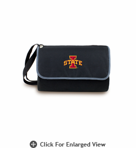 Picnic Time Blanket Tote - Black Iowa State Cyclones