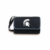 Picnic Time Blanket Tote - Black Michigan State Spartans