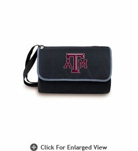 Picnic Time Blanket Tote - Black Texas A & M Aggies