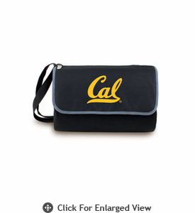 Picnic Time Blanket Tote - Black UC Berkeley Golden Bears