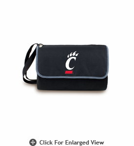 Picnic Time Blanket Tote - Black University of Cincinnati Bearcats