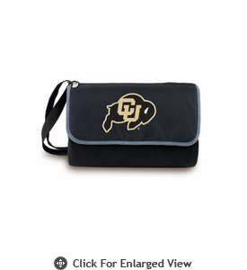 Picnic Time Blanket Tote - Black University of Colorado Buffaloes
