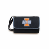 Picnic Time Blanket Tote - Black University of Illinois Fighting Illini