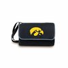 Picnic Time Blanket Tote - Black University of Iowa Hawkeyes