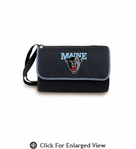Picnic Time Blanket Tote - Black University of Maine Black Bears