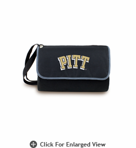 Picnic Time Blanket Tote - Black University of Pittsburgh Panthers
