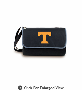 Picnic Time Blanket Tote - Black University of Tennessee Volunteers