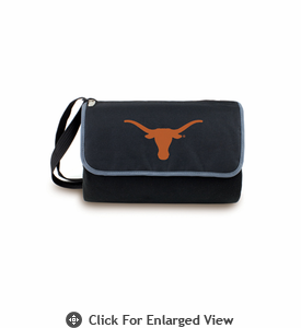 Picnic Time Blanket Tote - Black University of Texas Longhorns