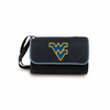 Picnic Time Blanket Tote - Black West Virginia University Mountaineers