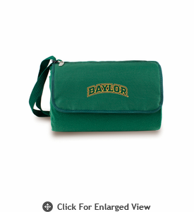 Picnic Time Blanket Tote - Hunter Green Baylor University Bears