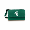 Picnic Time Blanket Tote - Hunter Green Michigan State Spartans