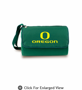 Picnic Time Blanket Tote - Hunter Green University of Oregon Ducks