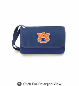Picnic Time Blanket Tote - Navy Blue Auburn University Tigers