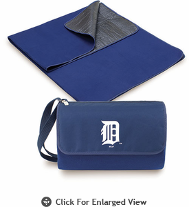 Picnic Time Blanket Tote - Navy Blue Detroit Tigers