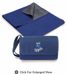 Picnic Time  MLB - Blanket Tote - Navy Blue Kansas City Royals