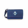 Picnic Time Blanket Tote - Navy Blue Tampa Bay Rays