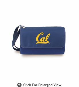 Picnic Time Blanket Tote - Navy Blue UC Berkeley Golden Bears
