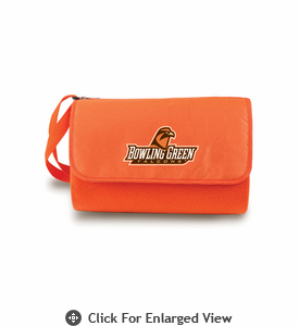 Picnic Time Blanket Tote - Orange Bowling Green State Falcons