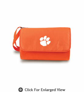 Picnic Time Blanket Tote - Orange Clemson University Tigers
