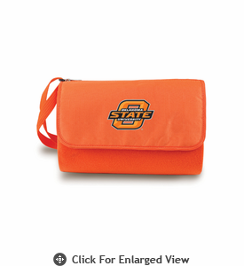 Picnic Time Blanket Tote - Orange Oklahoma State Cowboys
