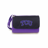 Picnic Time Blanket Tote - Purple TCU Horned Frogs