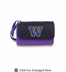Picnic Time Blanket Tote - Purple University of Washington Huskies